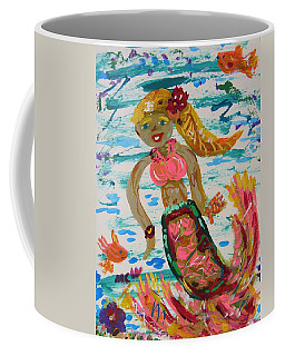 Mermaid Mermaid Coffee Mug by Mary Carol Williams
