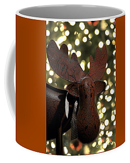 Merry Chrismoose Coffee Mug by Diane E Berry
