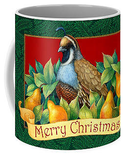 Merry Christmas Partridge Coffee Mug