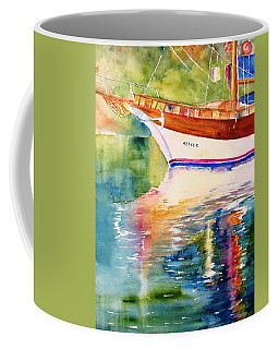 Merve II Gulet Yacht Reflections Coffee Mug