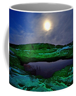 Coffee Mug featuring the photograph Mesa Arch In Green by David Andersen