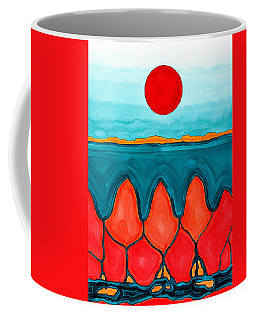 Mesa Canyon Rio Original Painting Coffee Mug