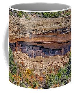 Mesa Verde Cliff Dwelling Coffee Mug by Paul Freidlund