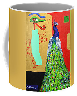 Messages Coffee Mug by Ana Maria Edulescu
