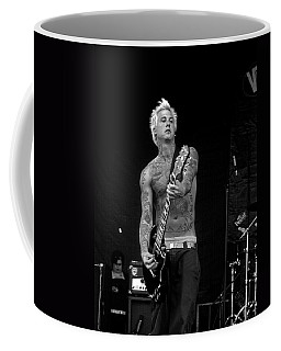 Coffee Mug featuring the photograph Mest Guitarist Tony Lovato by Mike Martin