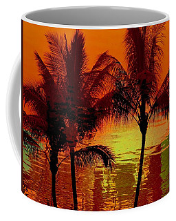 Coffee Mug featuring the photograph Metallic Sunset by Athala Carole Bruckner