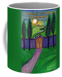 Metaphor Door By Jrr Coffee Mug by First Star Art