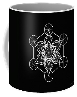Metatron Wheel Cube Coffee Mug