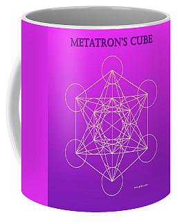 Metatron's Cube - Pinky Purple Coffee Mug