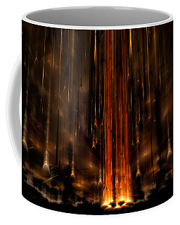 Meteors Coffee Mug by GJ Blackman