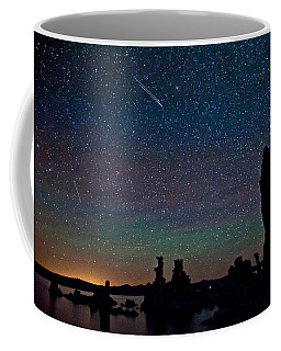 Meteors Over Mono Lake Coffee Mug