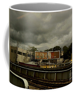 Metropolitan Transit Coffee Mug by Miriam Danar