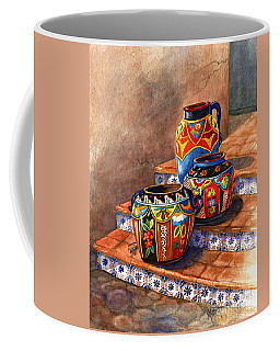 Mexican Pottery Still Life Coffee Mug