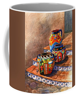 Mexican Pottery Still Life Coffee Mug