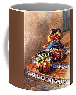 Mexican Pottery Still Life Coffee Mug by Marilyn Smith
