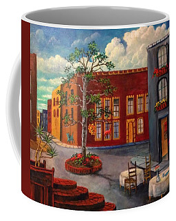 Coffee Mug featuring the painting Mexico Early Morning by Randol Burns