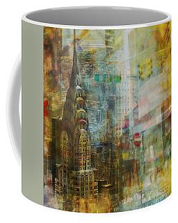 Mgl - City Collage - New York 04 Coffee Mug