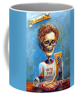 Coffee Mug featuring the painting Mi Quesadilla by Heather Calderon
