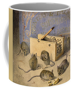 Mice And Huntley Palmers Superior Biscuits Coffee Mug