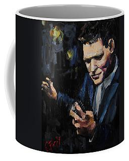 Michael Buble Coffee Mug by Carole Foret