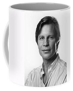 Coffee Mug featuring the photograph Michael York by Mark Greenberg