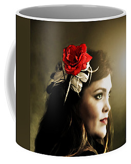 Michelle Bailey Coffee Mug by Ally  White