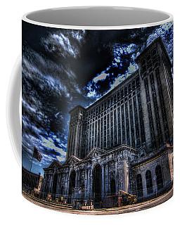 Michigan Central Station Hdr Coffee Mug