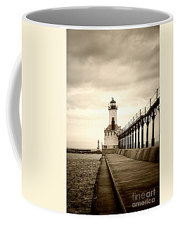 Michigan City Lighthouse Coffee Mug
