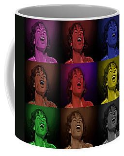 Mick Jagger Pop Art Print Coffee Mug