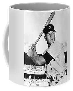 Mickey Mantle At-bat Coffee Mug