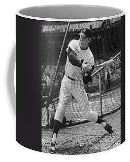 Mickey Mantle Poster Coffee Mug