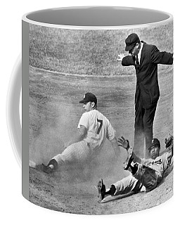 Mickey Mantle Steals Second Coffee Mug