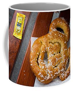 Mickey Mouse Shaped Pretzel Coffee Mug