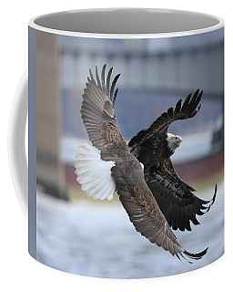 Mid Air Fight Coffee Mug