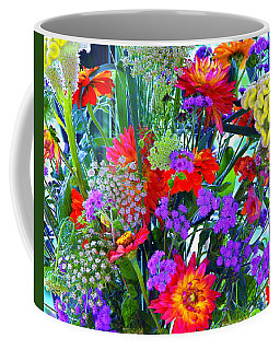 Mid August Bouquet Coffee Mug by Byron Varvarigos