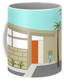 Mid Century Modern House 1 Coffee Mug