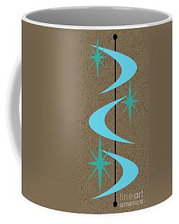 Mid Century Modern Shapes 2 Coffee Mug
