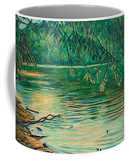 Mid-spring On The New River Coffee Mug by Kendall Kessler