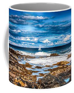 Midday Sail Coffee Mug by Fred Larson