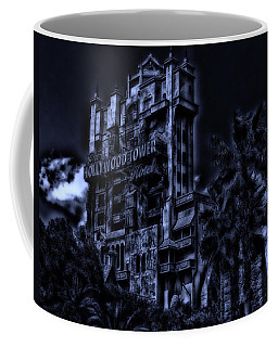 Midnight At The Tower Of Terror Coffee Mug