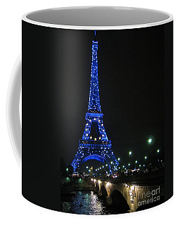Coffee Mug featuring the photograph Midnight Blue by Suzanne Oesterling