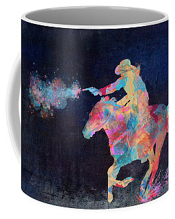 Midnight Cowgirls Ride Heaven Help The Fool Who Did Her Wrong Coffee Mug