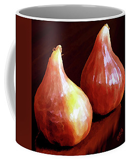 Midnight Figs Coffee Mug by Ben and Raisa Gertsberg