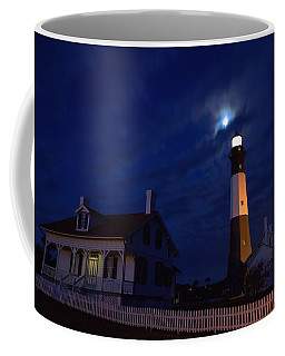 Midnight Moon Over Tybee Island Coffee Mug