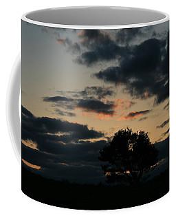 Farm Pasture Midnight Sun  Coffee Mug by Neal Eslinger