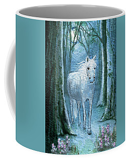 Coffee Mug featuring the painting Midsummer Dream by Terry Webb Harshman