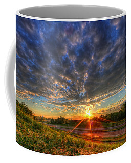 Midwest Sunset After A Storm Coffee Mug