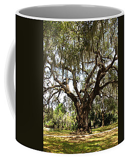 Coffee Mug featuring the photograph Mighty Oak by Beth Vincent
