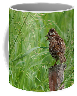Mighty Sparrow Coffee Mug