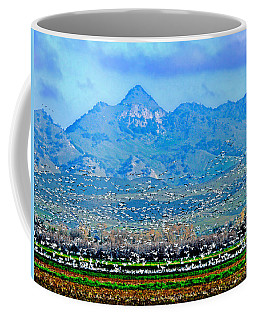 Migrating Birds Over Sutter Wilflife Refuge Coffee Mug